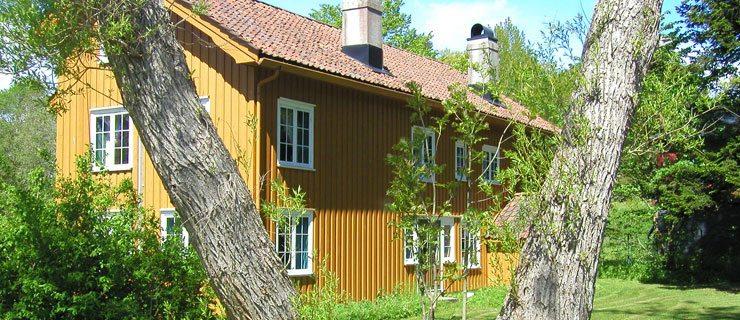 Hove gård. Hove leirsenter. Tromøy, Arendal, Sørlandet