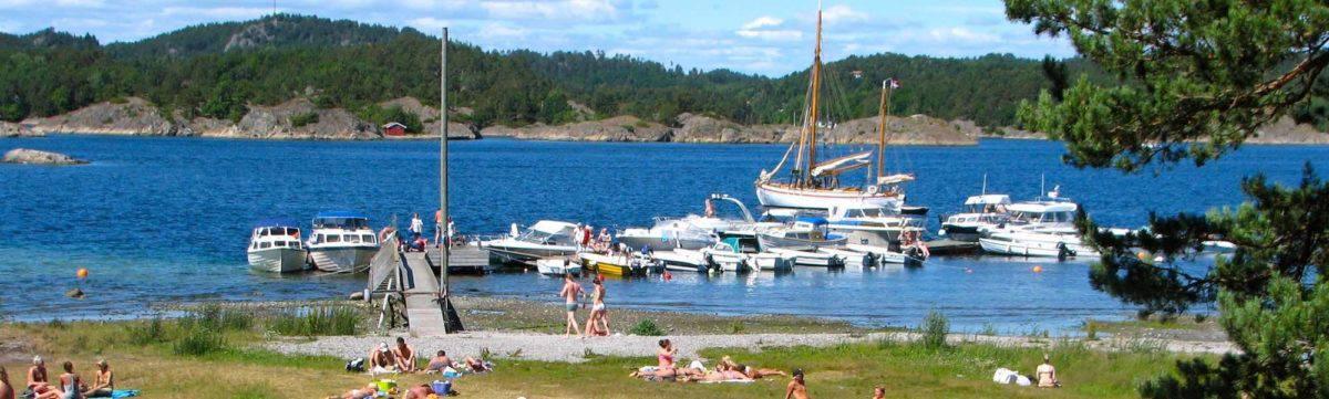 Hove camping. Tromøy, Arendal, Sørlandet
