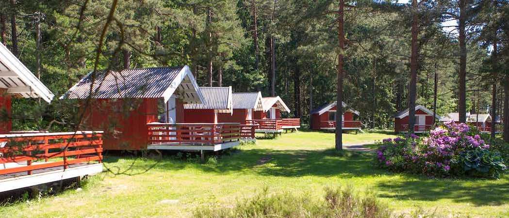 Hove camping - hytteutleie. Tromøy, Arendal, Sørlandet